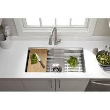 kitchen nice inspiration ideas kohler stainless steel kitchen sinks k 5540 na prolific 33 undermount single