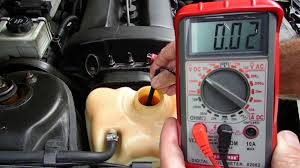 antifreeze coolant checking with a multimeter updated