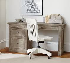 Home Office Desks Writing Desks Craft Tables Pottery Barn Fascinating Home Office Desks Furniture