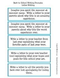 I would use these writing prompts to have students practice expository  writing  I would write