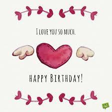 i love you so much happy birthday