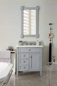 James Martin Brittany Single 30 Inch Transitional Bathroom Vanity Urban Gray