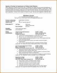 Resume Samples Uva Career Center How To Write A For Federal
