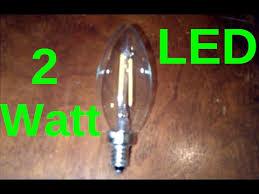 2 watt led candelabra light bulb review e12