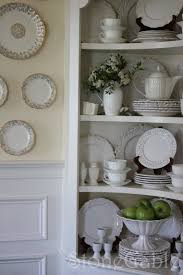 Dish Display Cabinet Summer Cupboard Stonegable