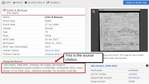 Inherited Genealogy Files Adding Source Citations To An Inherited