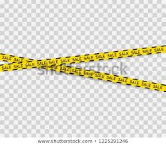 Black And Yellow Stripes Border Sale Background Black Yellow Striped Borders Stock Vector Royalty