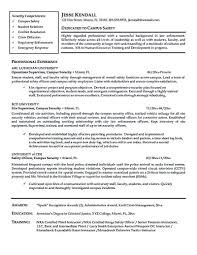 Professional Resume Objective Law Enforcement Resume Objective Pin On Resume Samples At