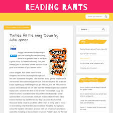 Teen booklists reading rants