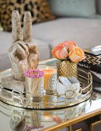 Decorative Trays For Living Room Impressive Best 100 Coffee Table Tray Ideas On Pinterest For 25