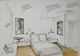 Bedroom Interior Design Sketches Interior Conceptual Sketch Bedroom Sketch By Magdalena