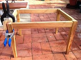 tapered coffee table legs the wooden