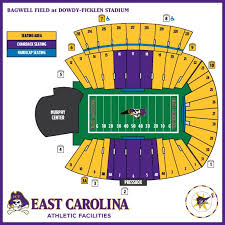 Carolina Seating Chart Seating Chart Dowdy Ficklen Stadium Football Designed