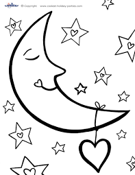 Small Picture Awesome Coloring Pages Stars Moons Contemporary Coloring Page