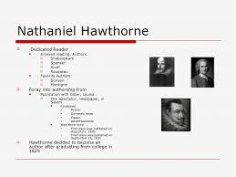nathaniel hawthorne s writing style nathaniel hawthorne