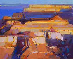 saatchi art artist vahe yeremyan painting grand canyon sunrise landscape oil painting