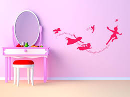 peter pan wall art e modern decal nursery sticker pvc transfer