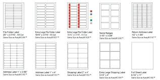 Avery 1 2 X 1 3 4 Template Avery Labels 2 X 4 Pres A Ply Standard Laser Shipping Label