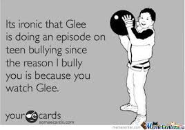 Glee Memes. Best Collection of Funny Glee Pictures via Relatably.com
