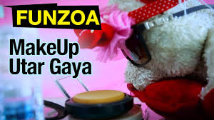 make up utar a funny song on s makeup funzoa mimi teddy funny hindi song on beauty tips