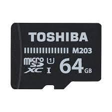 Toshiba THN-M203K0640EA Exceria 64GB MicroSD UHS-I Class 10 Hafıza Kartı  Fiyatları
