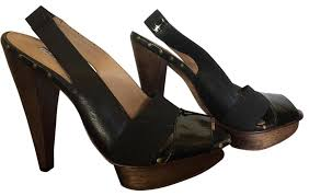 Charles David Black Fit 8 8 5 Platforms Size Eu 39 Approx Us 9 Regular M B 69 Off Retail