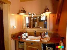 unique bathroom lighting ideas. Rustic Bathroom Lighting Ideas Unique Design Light
