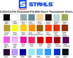 Heat Transfer Vinyl Patterns