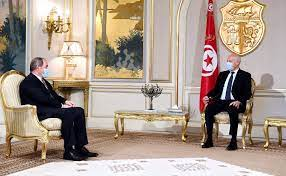 """قيس سعيد: التنسيق مع الجزائر """"خيار ثابت ومبدأ راسخ"""" - RT Arabic"""