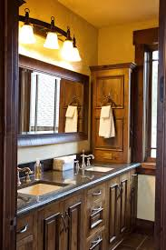 rustic bathroom double vanities. Modren Rustic Bathroom Rustic Double Vanity Best Love Oversized  Mirror Above Home Pict On Vanities