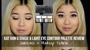 kat von d shade light eye contour palette review swatches