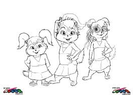 Alvin And The Chipmunks007 De Beste Kleurplaten