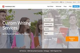 top essay writing service reviews by anonymous students  paperhelp org review