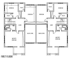 4 Bedroom Semi Detached Duplex   First Floor Plan