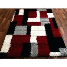 black white grey rug black white grey and red rugs
