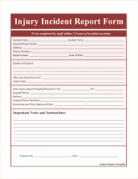 incident report template word outline templates incident report template word templates by xiaocuisanmin
