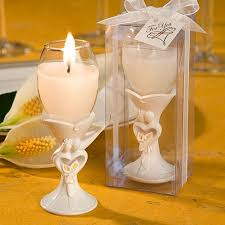 say cheers to your guests with these stylish bride and groom design champagne flute candle holder favors your guests are sure to make a memory filled toast