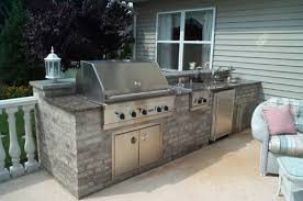 Backyard Designs With Pool And Outdoor Kitchen Amazing Outdoor Kitchen Fireplace Design In NJ K C Land Design