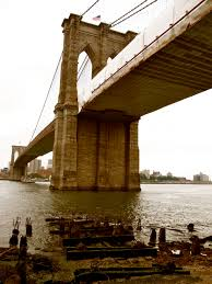 new york city a brooklyn bridge photo essay angie away it was the largest suspension bridge in the world at the time and the only link aside from the ferry from manhattan to brooklyn more than 4 000 pedestrians