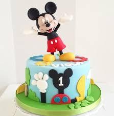 Mickey Mouse Cake 3 Customized Birthday Cakes For Kids Caketalk