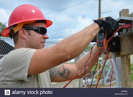 U S Air Force Staff Sgt Kyle Rankin An Electrician From The 820th