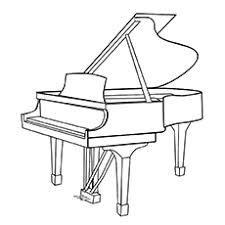 Small Picture 10 Beautiful Piano Coloring Pages For Your Little One