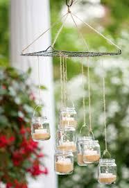 recycled jar chandelier handyman