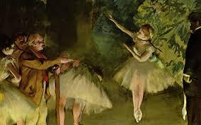 back to edgar degas paintings ballet rehearsal