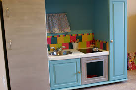 Play Kitchen From Old Furniture 3krazychics Diy Play Kitchen From Old Entertainment Center
