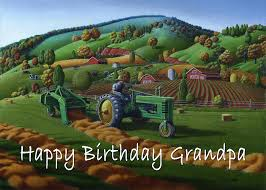 Check spelling or type a new query. No 21 Happy Birthday Grandpa 5x7 Greeting Card Painting By Walt Curlee