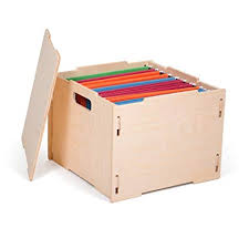 hanging file box. Amazon Com Unfinished Modern Wooden Hanging File Boxes American With Regard To Prepare 4 Box