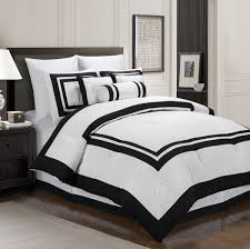 furnitures chezmoi collection piece square pattern hotel duvet cover bedding set best sets roselawnlutheran black and