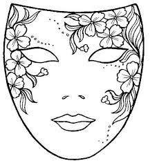 Afbeeldingsresultaat Voor Schilderspalet Kleurplaat Kunst Maskers