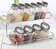 es jar glass herbs containers kitchenware seasoning storage rack